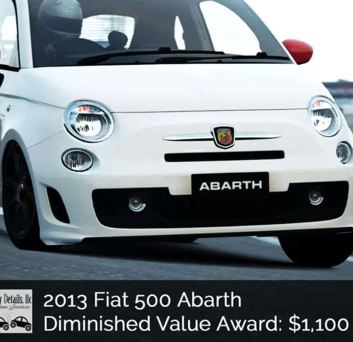 Fiat Diminished Value Success!