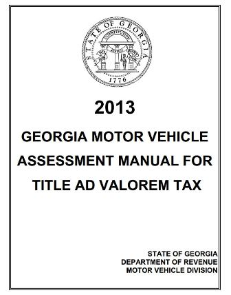 2013 Vehicle Valuation Manual