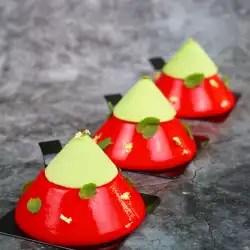 Recette entremets fraise menthe