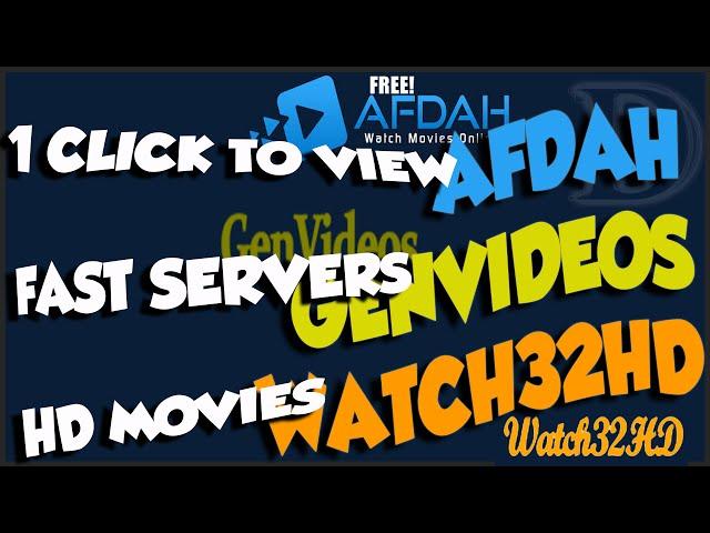 Afdah Genvideos Watchhd Superaddons For Hd Movies Blazing Fast Servers
