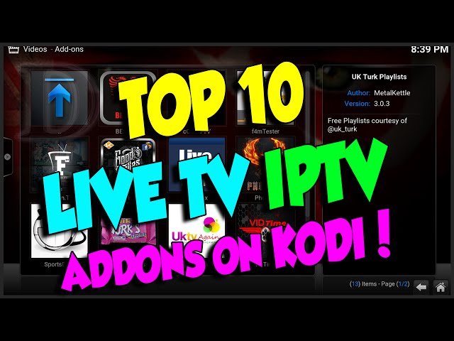 Kodi best live tv addon 2016 | Best Kodi Addon of the Month July