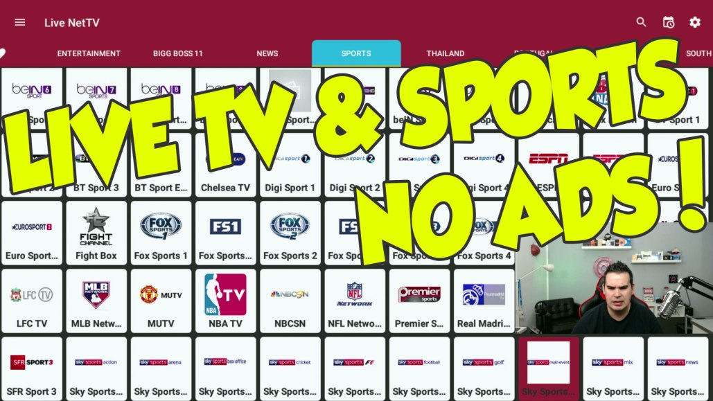 Great Apk For Live Tv Sports Movies With No Ads Modded Dimitrology