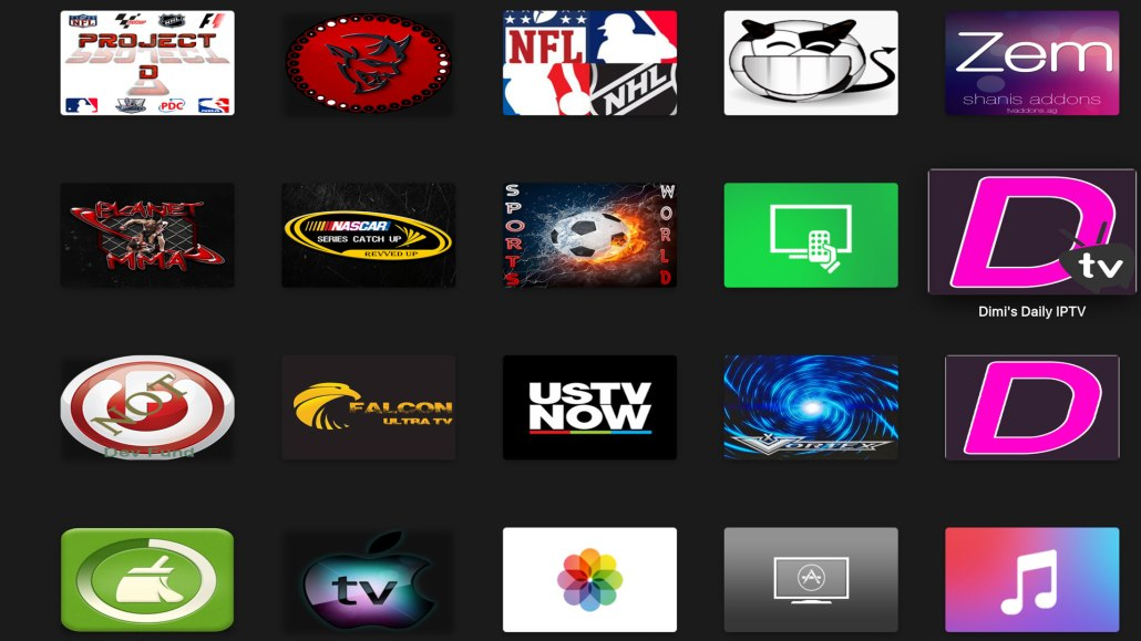 SCHISM TV SERENITY APPLE TV KODI BUILD ADDONS