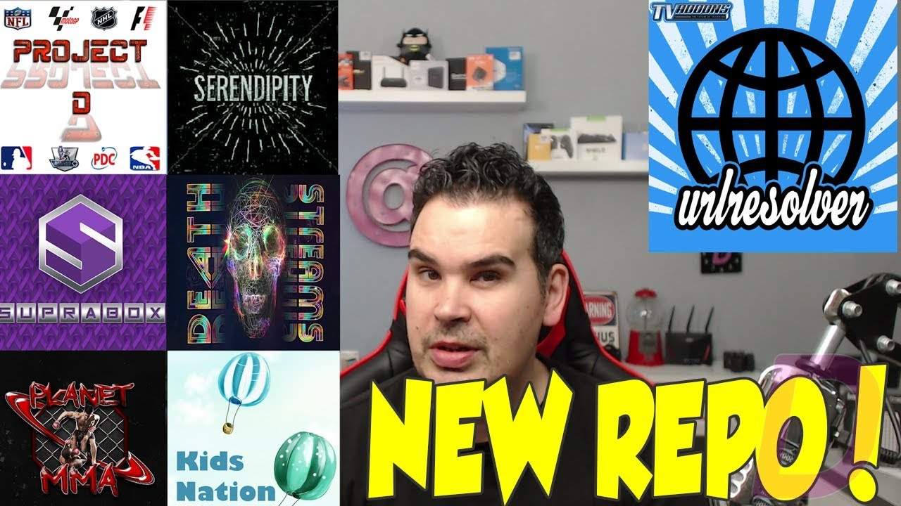 UPDATE URL RESOLVER ON KODI AND INSTALL SOME AMAZING ADDONS FROM NEW
