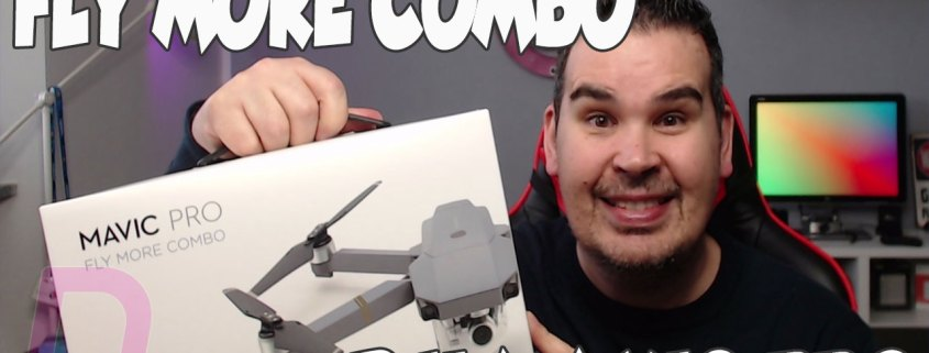 DJI MAVIC PRO FLY MORE COMBO UNBOXING AND LOW PRICE COUPONS