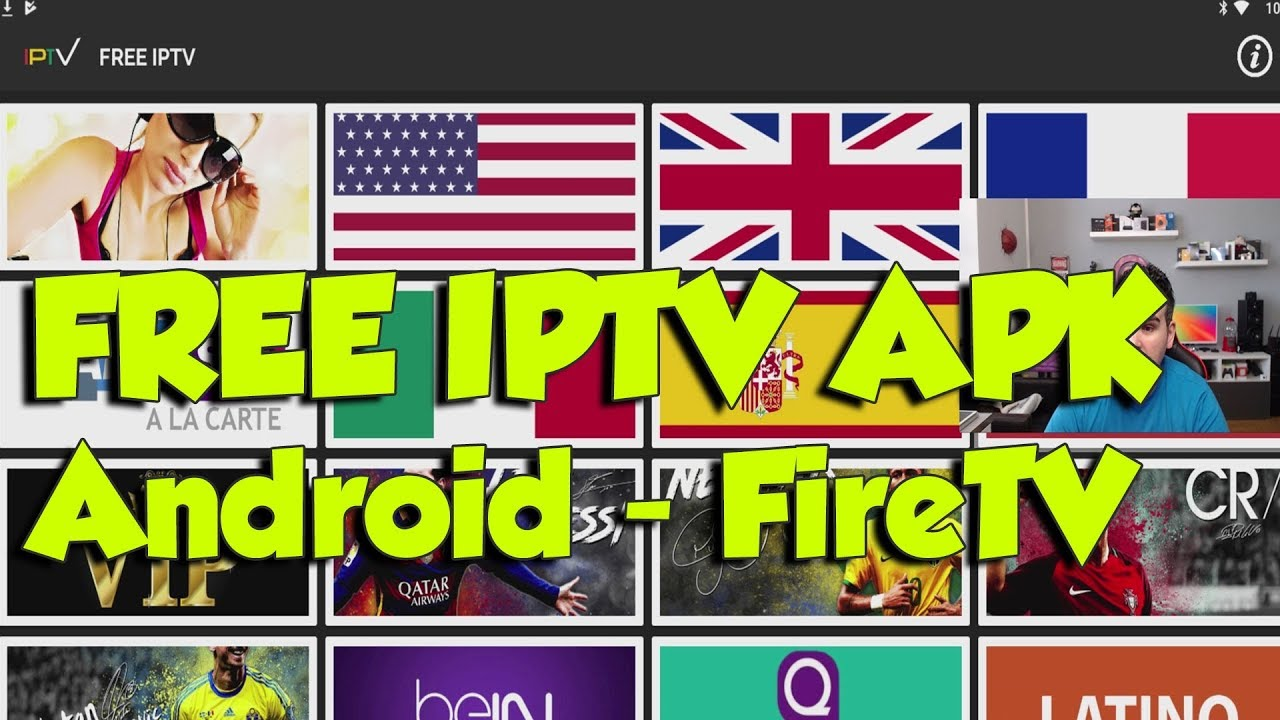 FREE IPTV APK LIVE TV ON ANDROID FIRESTICK 2018