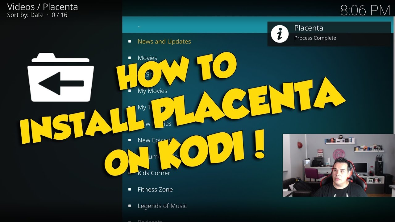 NO MORE MR BLAMO - HOW TO INSTALL PLACENTA