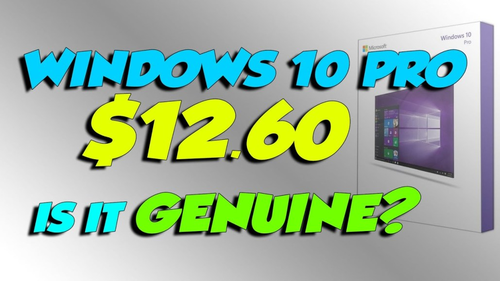 Windows 10 PRO for $12 and low prices on Games for PC STEAM