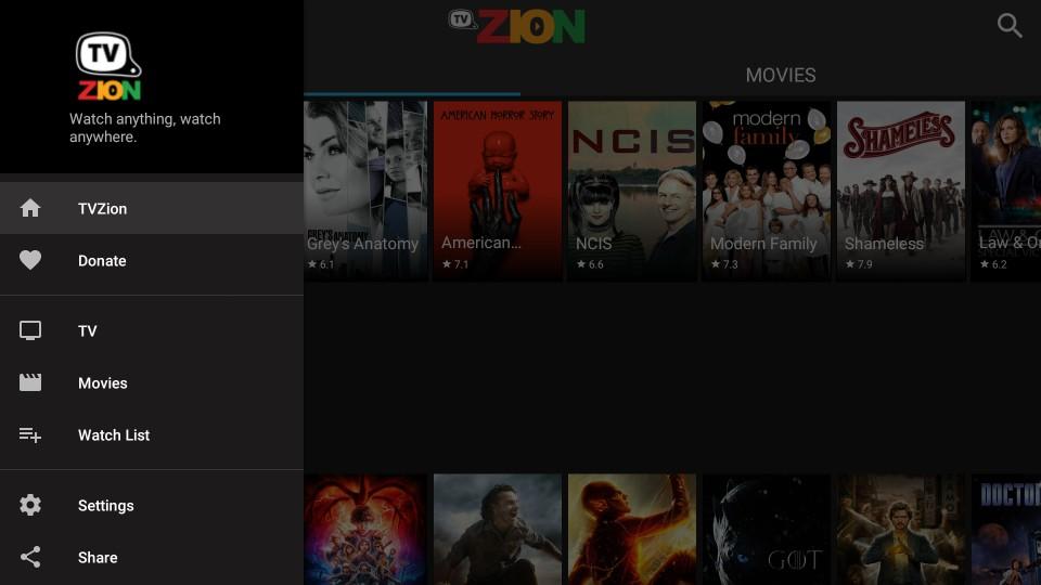 TVZion APK