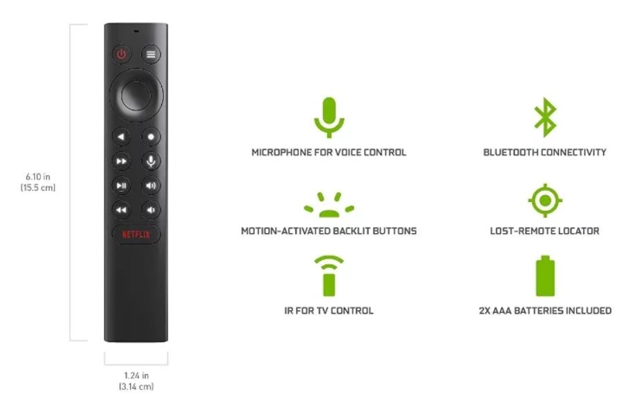 Nvidia Shield TV 2019 Remote
