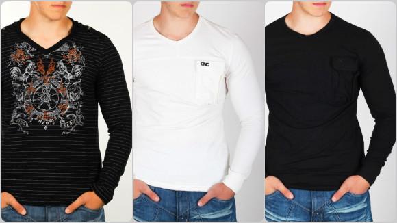 Изберете мъжки блузи с остра яка, за да сте винаги красиви