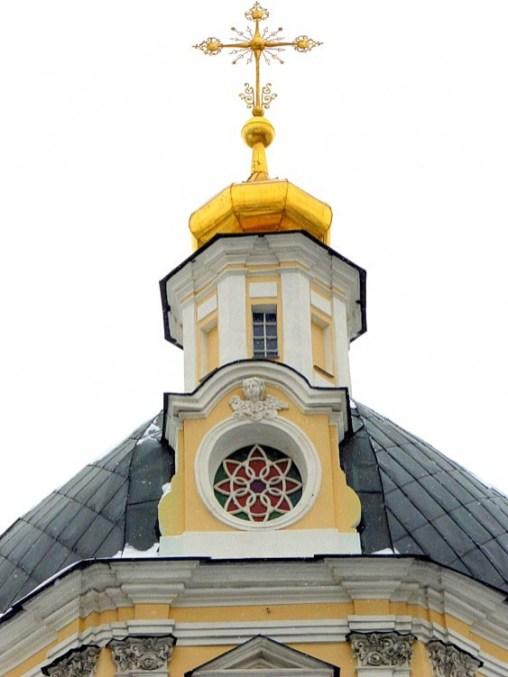 Купол церкви Николы в Звонарях