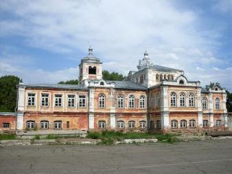 Церковь св.Димитрия Ростовского на архиерейском подворье в г. Бийске
