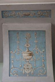 Арабесковая роспись балкона. Фрагмент