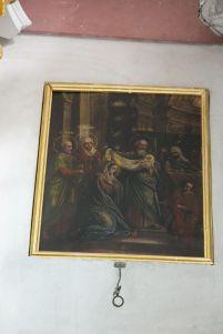 Икона Сретения Господня из праздничного ряда иконостаса