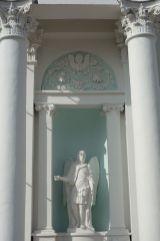 Архангел Михаил. Южный фасад храма