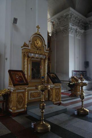 Фрагмент интерьера Спасо-Преображенского собора