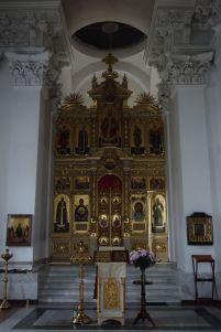 Интерьер Спасо-Преображенского собора