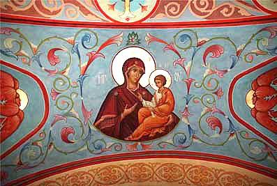 Роспись Рождественского храма с. Иван-Теремец