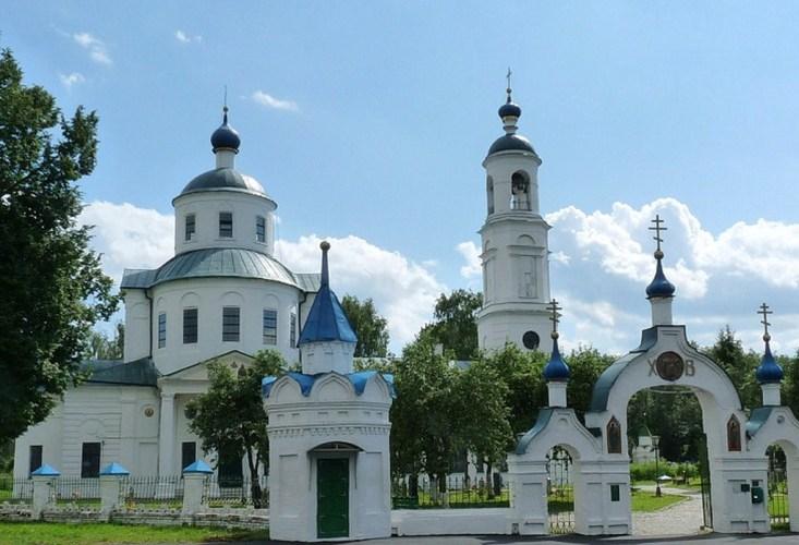 Введенская церковь с. Спирово