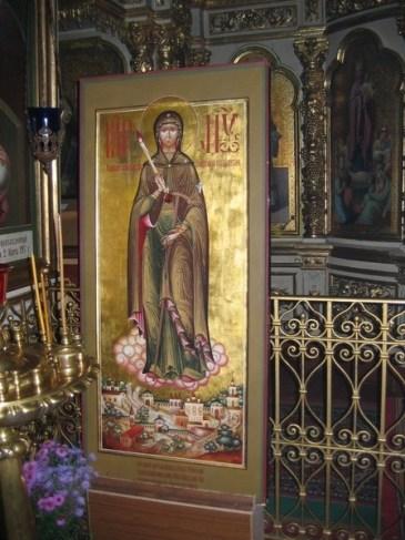 Чудотворная икона Богородицы «Вратарница», или «Неугасимая Свеча» из храма в с. Спирово