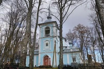 Покровская церковь села Павы