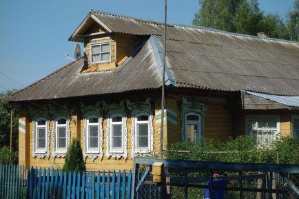 Дома села Вощажникова
