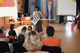 Занятие в Кладовицкой школе села Ново-Никольского