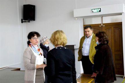 Встреча с читателями в Ярославской областной научной библиотеке им. Н. А. Некрасова