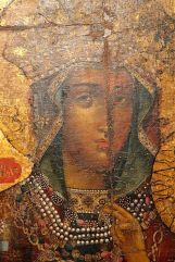 Фрагмент Новодворской иконы Богородицы