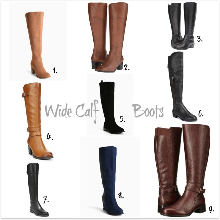 Some nice wide calf boot options