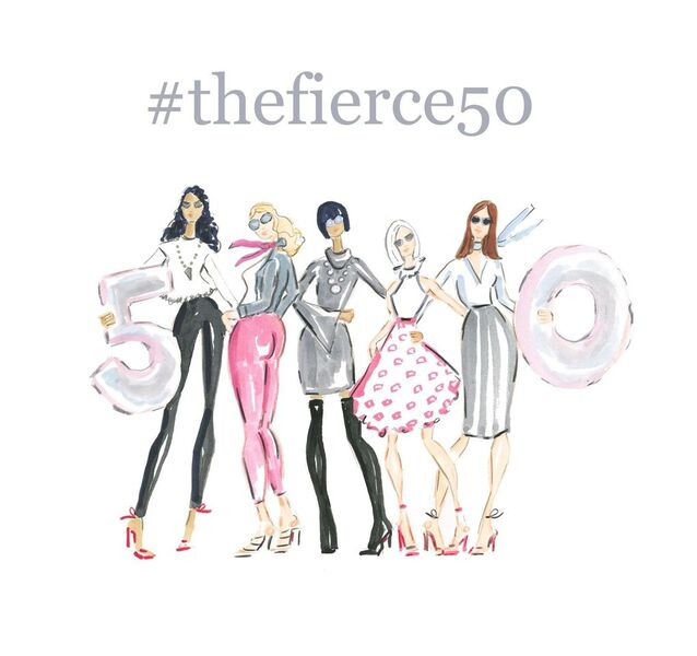 The Fierce 50 Beth Briggs Illustration /