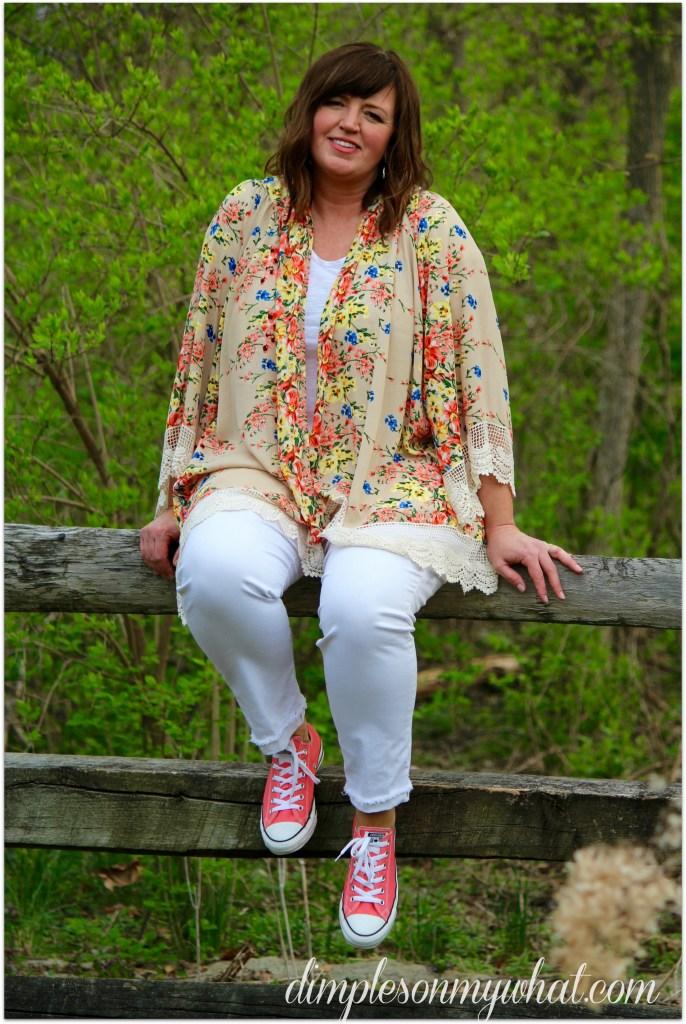 Kimono / EASY summer style / Over 50 Fashion
