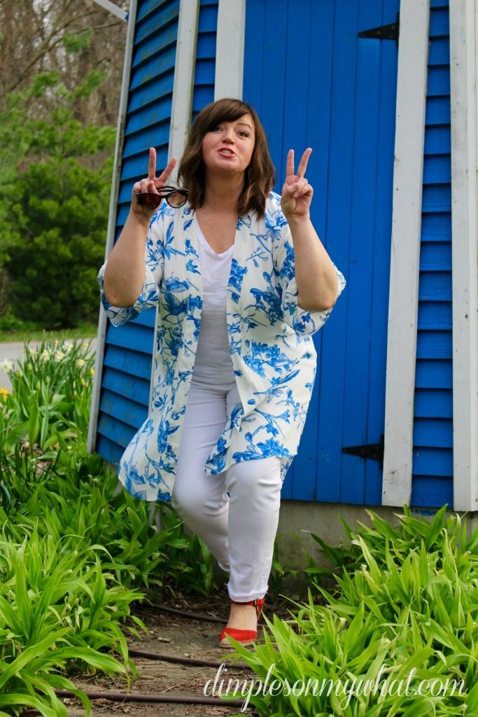 Kimono / Over 50 Fashion / Easy Summer Fashion