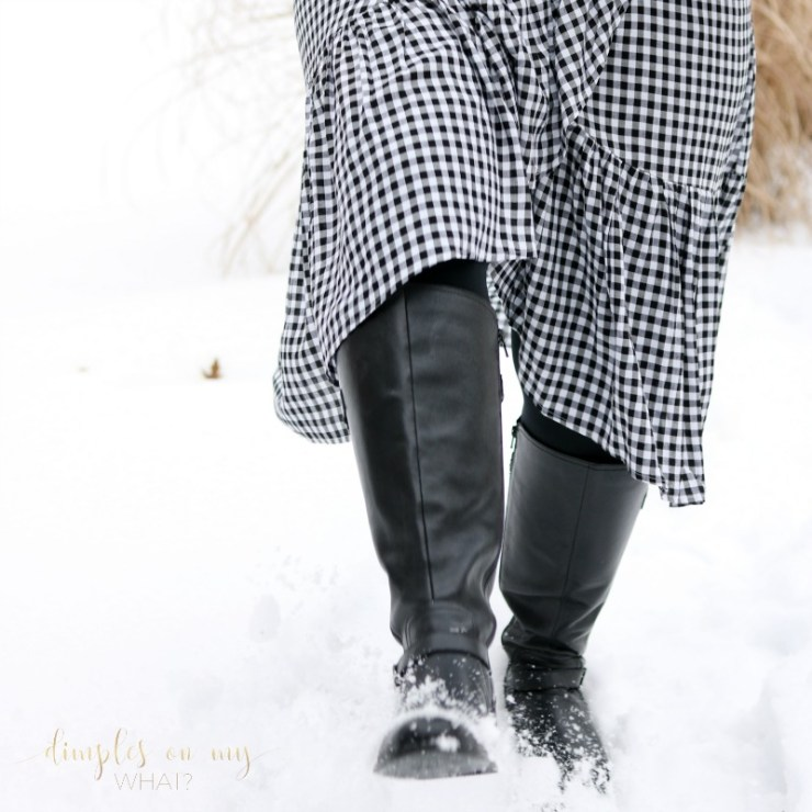 Kicking Blogging Rules to the Curb | Find Your Own Blogging Voice | Gingham Wrap Skirt