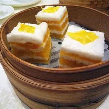 Thousand layer Cake - 千層糕 - Dim Sum Guide