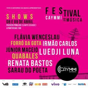 Festival Caymmi_card
