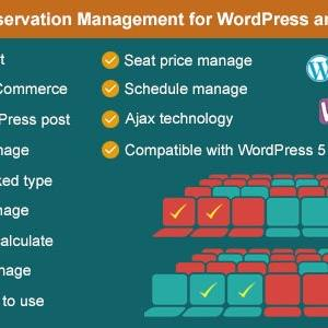 JUAL Advance Seat Reservation Management for WooCommerce
