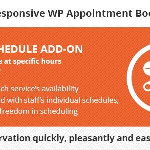 JUAL Bookly Service Schedule (Add-on)