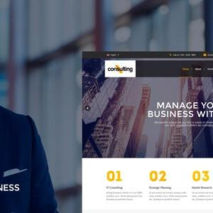 JUAL Consulting - Corporate and Business WordPress Theme