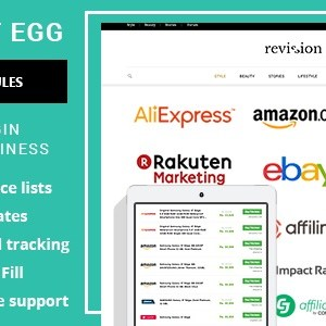 JUAL Content Egg - All in one plugin for Affiliate