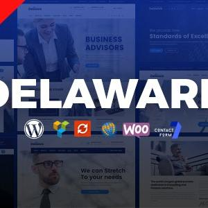 JUAL Delaware - Consulting and Finance WordPress Theme