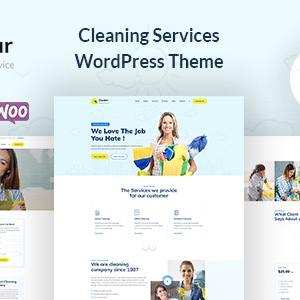JUAL Dustar - Cleaning Services WordPress Theme