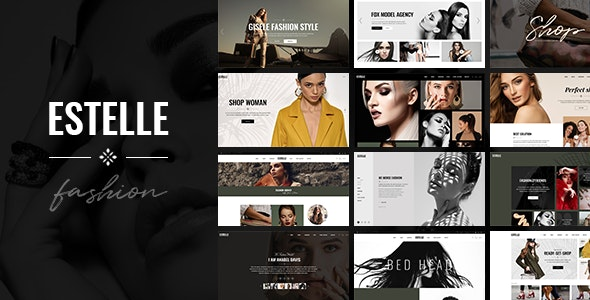 JUAL Estelle - Fashion and Modelling Agency Theme