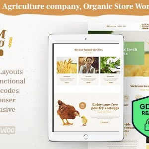 JUAL Farm Agrico - Agricultural Business WP Theme