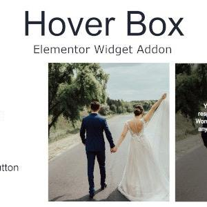 JUAL Hover Box Elementor Page Builder Addon