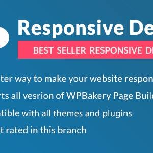 JUAL Responsive PRO for WPBakery Page Builder