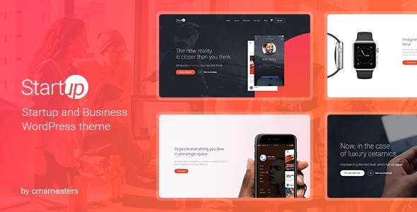 JUAL Startup Company - WordPress Theme for Business & Technology