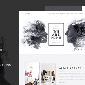 JUAL The Agency - Creative One Page Agency Theme