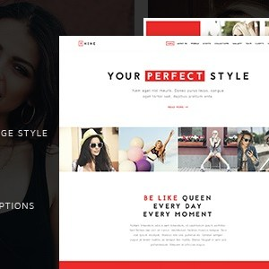 JUAL The Fashion - Model Agency One Page Beauty Theme